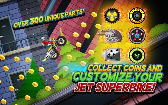 Turbo Speed Jet Racing Super Bike Challenge Game2
