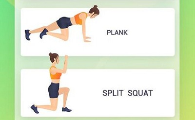 Easy Workout HIIT Exercises Abs Butt Fitness
