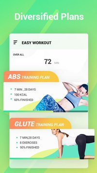 Easy Workout HIIT Exercises Abs Butt Fitness2