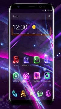 Neon Light Launcher1