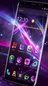 Neon Light Launcher2