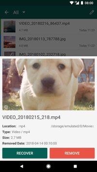 Recycle Master Recover Deleted Photo Video File3