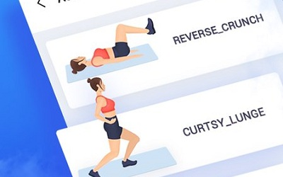 Super Workout Female Fitness Abs Butt Workout