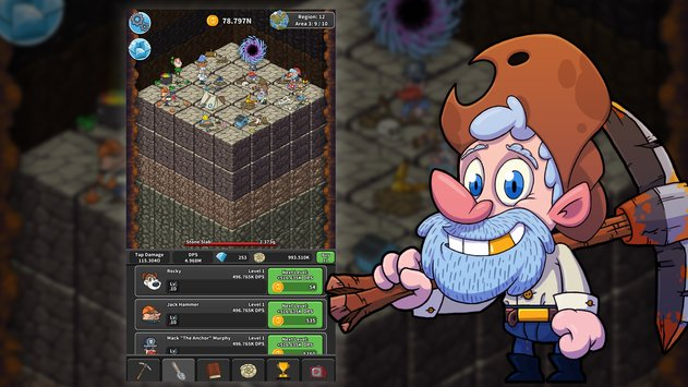 Tap Tap Dig Idle Clicker Game1