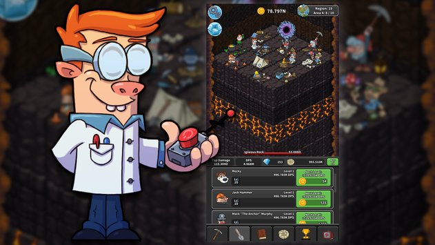 Tap Tap Dig Idle Clicker Game2
