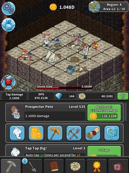 Tap Tap Dig Idle Clicker Game5