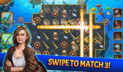 Treasure Match 3 Free Gem Matching Adventure Game