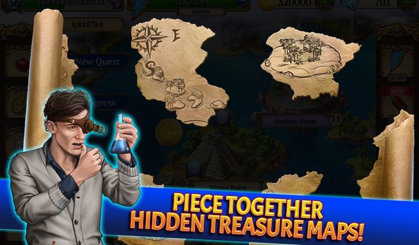 Treasure Match 3 Free Gem Matching Adventure Game2