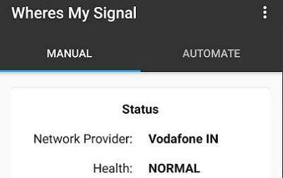 Wheres my Signal Signal Refresher