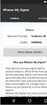 Wheres my Signal Signal Refresher6