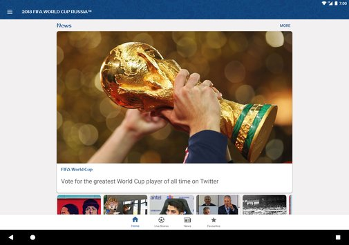 2018 FIFA World Cup Russia Official App1
