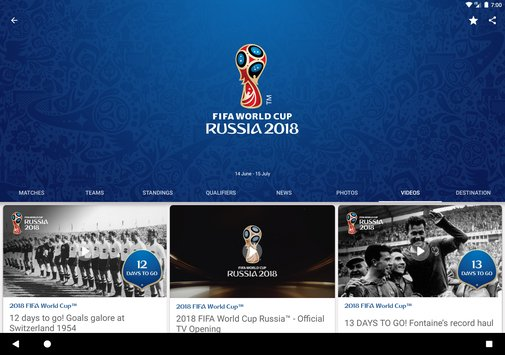 2018 FIFA World Cup Russia Official App3