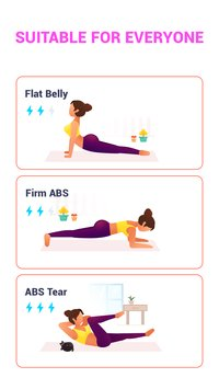 ABS Workout 7 Minute Women Free Workout6