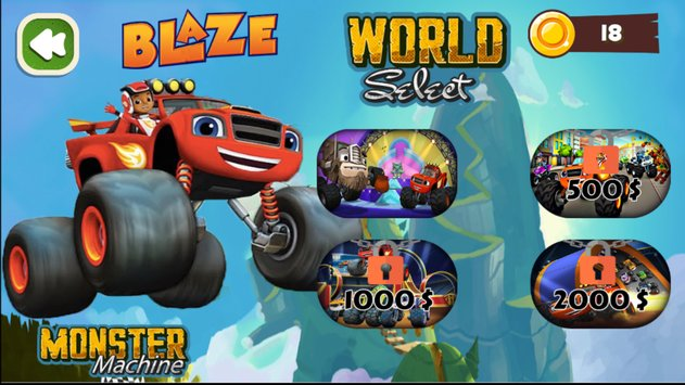 Blaze and The Monster Hill Racing Machines 2018 1
