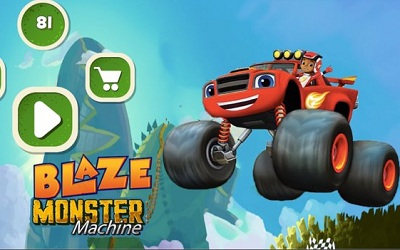 Blaze and The Monster Hill Racing Machines 2018