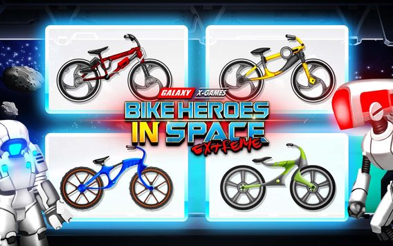 High Speed Extreme Bike Race Game Space Heroes1