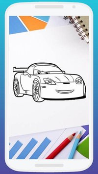 McQueen Coloring Pages4