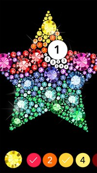No Diamond Colors by Number5