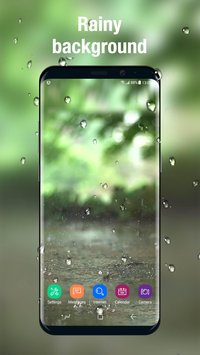 Animated weather live wallpaper background4
