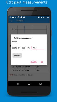 Body Measurement Body Fat and Weight Loss Tracker5