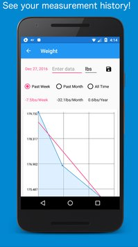 Body Measurement Body Fat and Weight Loss Tracker8