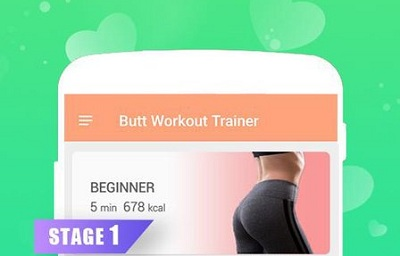 Butt Workout Trainer Hips Butt Legs