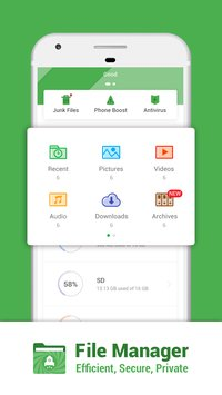 File Manager Efficient Secure Private3