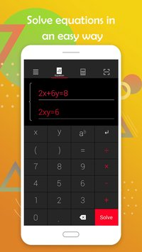Math Calculator Solve problems by taking photo1