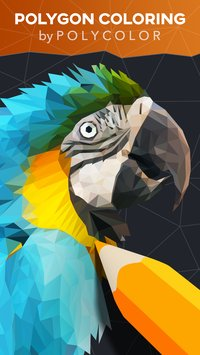 PolyColor Color by Number Poly Art Coloring Game1