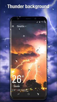 3D Weather Live Wallpaper for Free3