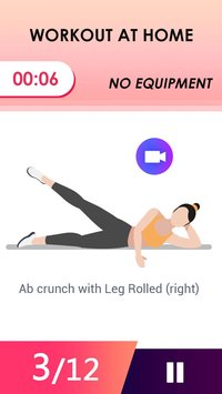 Abs Workout Weight Loss App Tabata HIIT5