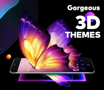 Bling Launcher Live Wallpapers Themes4
