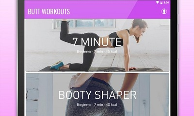 Butt Workout Booty Hips Buttocks Workout App
