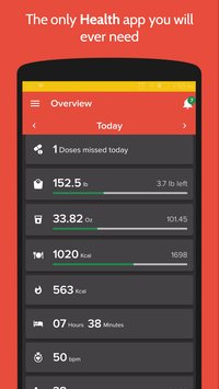 Health Fitness Tracker with Calorie Counter1