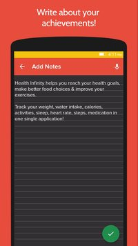 Health Fitness Tracker with Calorie Counter9