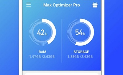 Max Optimizer Pro easy to use boost phone fast