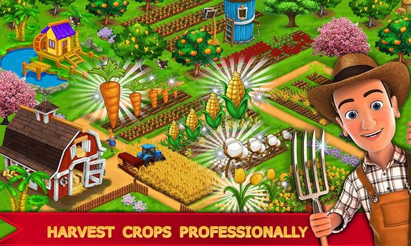 My Farm Town Village Life Top Farm Offline Game2