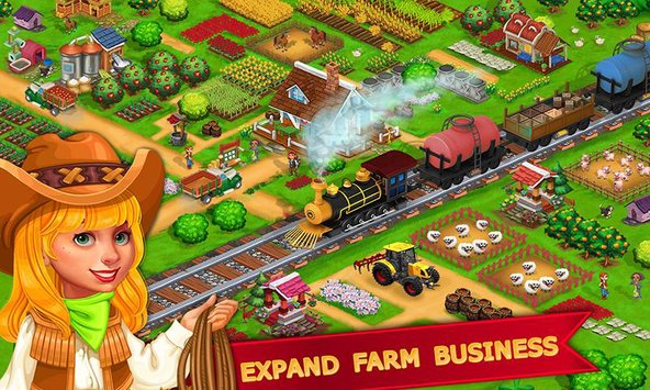 My Farm Town Village Life Top Farm Offline Game3