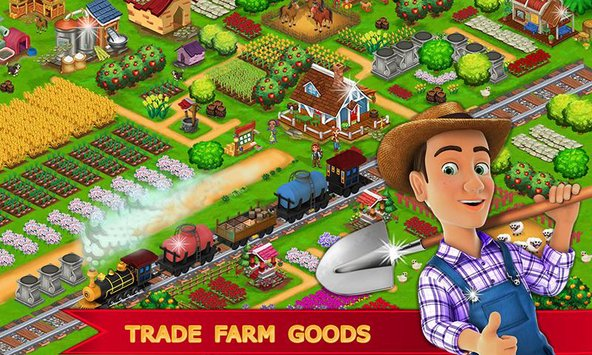 My Farm Town Village Life Top Farm Offline Game4