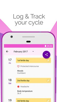 Period and Ovulation Tracker Period Tracker17
