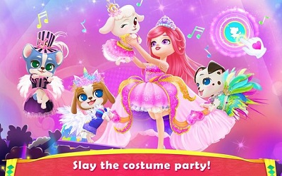 Royal Puppy Costume Party