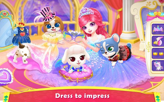 Royal Puppy Costume Party1