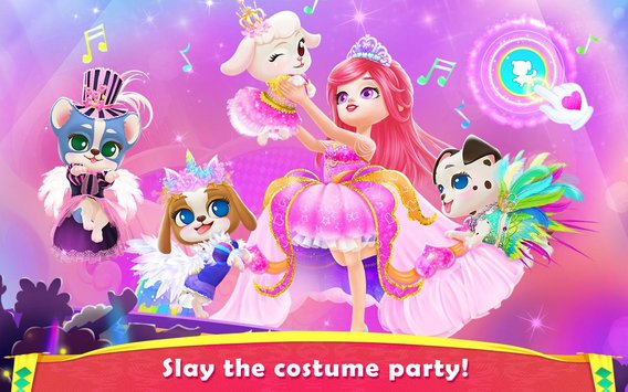 Royal Puppy Costume Party5