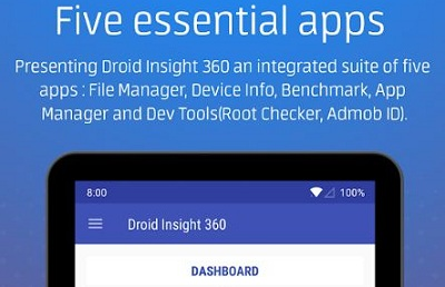 Droid Insight 360 File App Manager Device Info