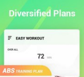 Easy Workout HIIT Exercises, Abs & Butt Fitness