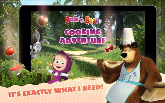 Masha and the Bear Child Games Cooking Adventure1