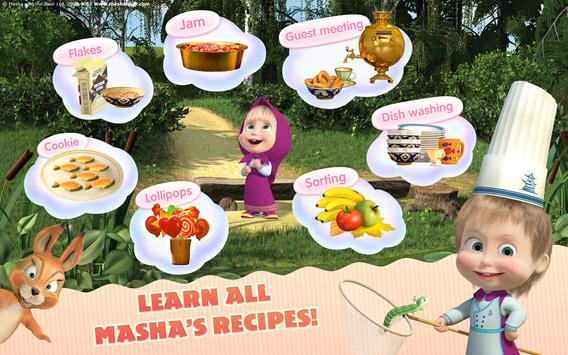 Masha and the Bear Child Games Cooking Adventure2