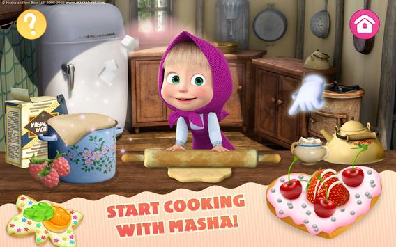 Masha and the Bear Child Games Cooking Adventure5