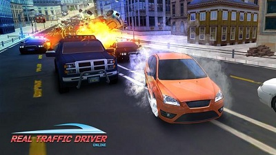 Real Traffic Driver Online 2018