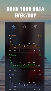 Step Tracker Daily pedometer Lose weight2